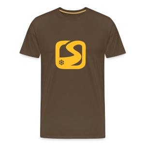 MC Snow-fr Logo - T-shirt Premium Homme