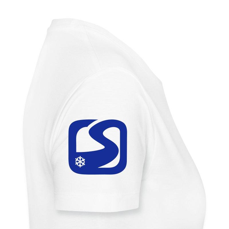 MC Snow-fr Epaule - T-shirt Premium Femme