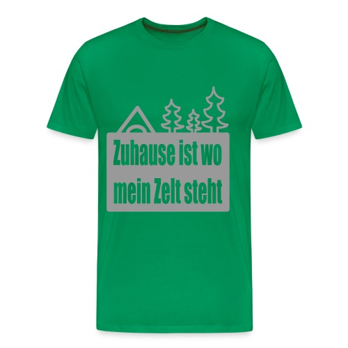 Zuhause ist... - Männer Premium T-Shirt