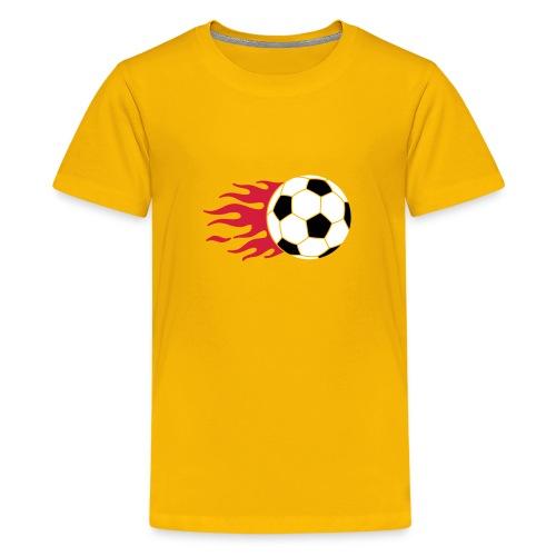 Kids Fireball Top - Teenage Premium T-Shirt