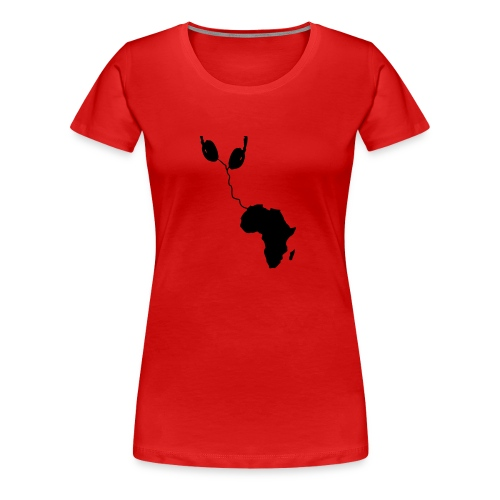 Sound of Africa - Frauen Premium T-Shirt