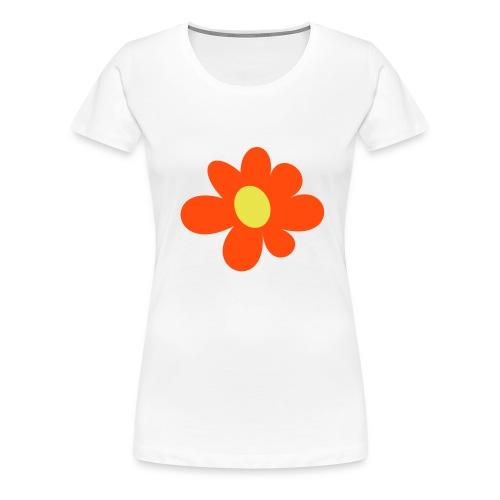 FLOWER POWER - Koszulka damska Premium