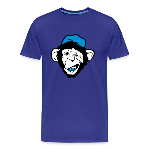 Monkey Flirting - Premium T-skjorte for menn