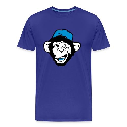 Monkey Flirting - Premium T-skjorte for menn