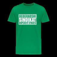 Tee shirts ~ T-shirt Premium Homme ~ Majica Beogradski Sindikat