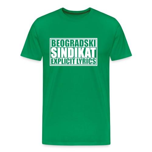 Majica Beogradski Sindikat - T-shirt Premium Homme