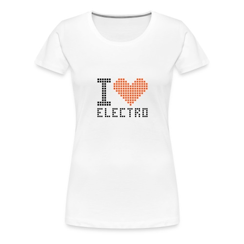 I love Electro boy - Women's Premium T-Shirt