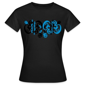 girly blackletter 2 - Frauen T-Shirt