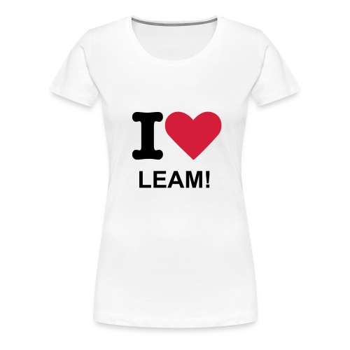 I Heart Leamington! - Women's Premium T-Shirt