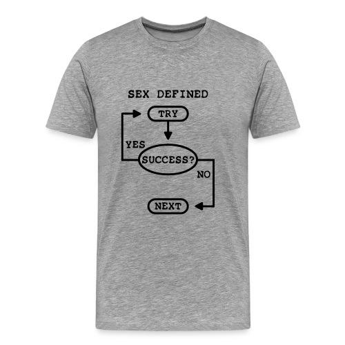 Drague de geek - T-shirt Premium Homme