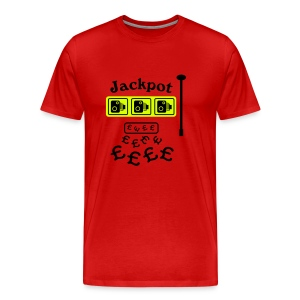 Speed Camera JACKPOT - Men's Premium T-Shirt