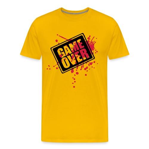 Game over - Premium T-skjorte for menn