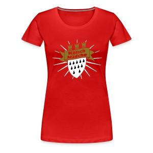 Koelsch Maedche - Frauen Premium T-Shirt