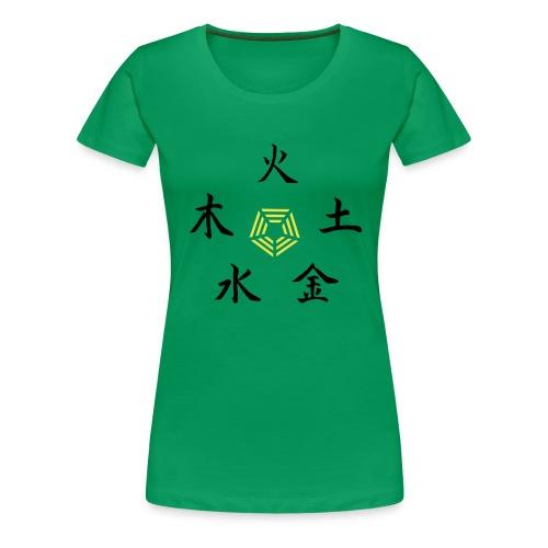 5 Element - Frauen Premium T-Shirt