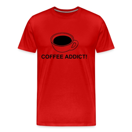 Coffe Addict - T-shirt Premium Homme