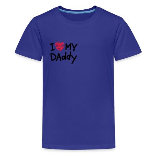 Camiseta unisex celeste - Camiseta premium adolescente