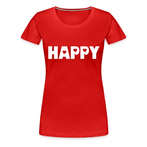 Happy - Premium-T-shirt dam