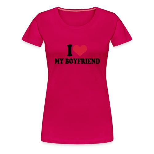 (L) - Vrouwen Premium T-shirt