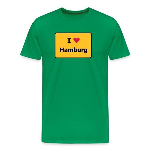 I Love ... - Männer Premium T-Shirt