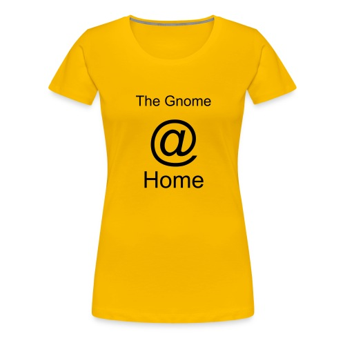 Yellow Gnome Shirt - Women's Premium T-Shirt