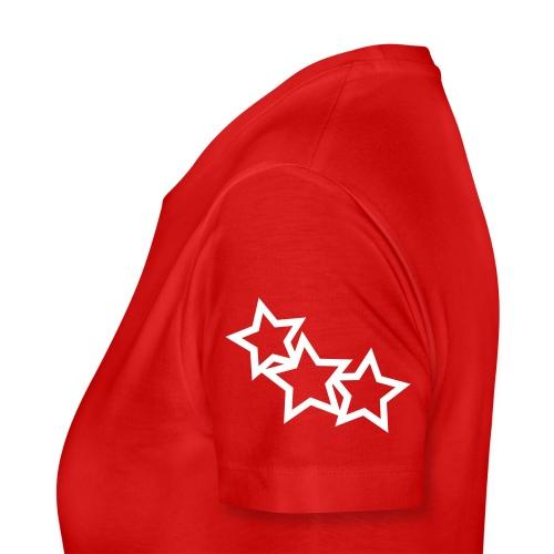Misa's red stars top - Women's Premium T-Shirt