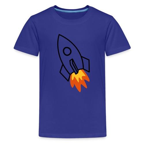 Raket - Premium-T-shirt tonåring