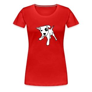 Mad dog - Vrouwen Premium T-shirt