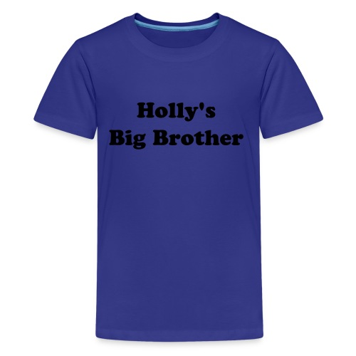 Personalise Big Brother - Teenage Premium T-Shirt