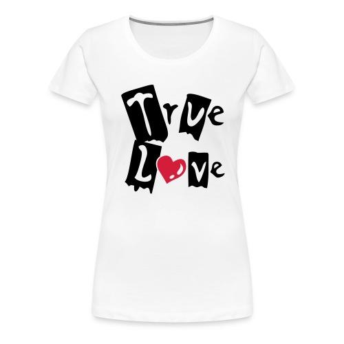 True Love (Frau) - Frauen Premium T-Shirt