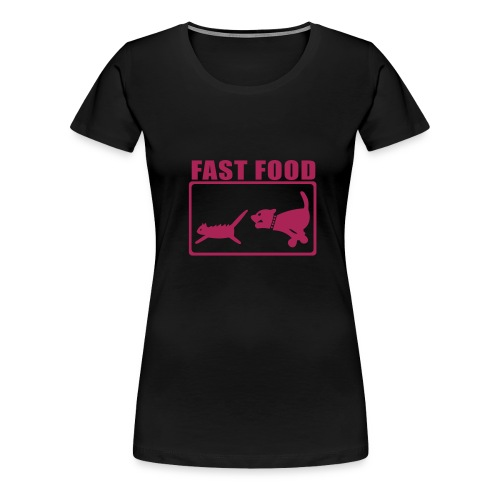 Fast Food - Women's Premium T-Shirt