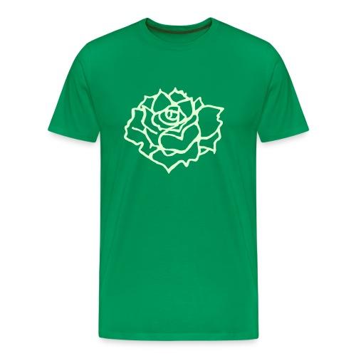Flower Glowing - Men's Premium T-Shirt