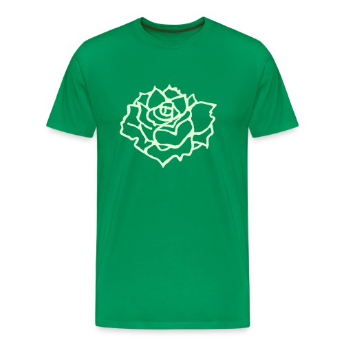 Flower Glowing - Men's Premium T-Shirt