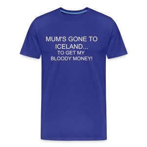 Iceland money t-shirt - Men's Premium T-Shirt