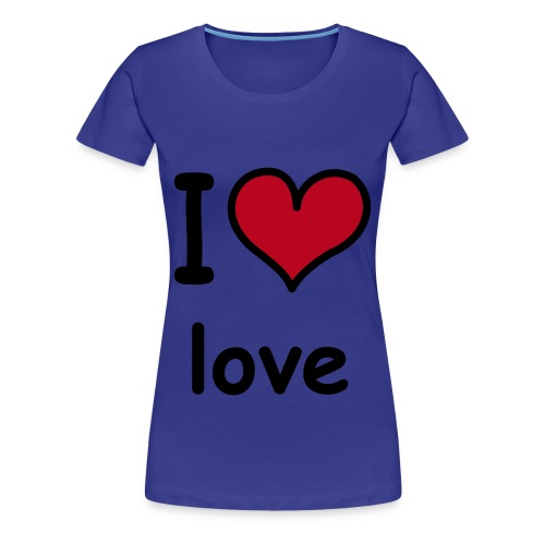 I heart love shirt - Women's Premium T-Shirt
