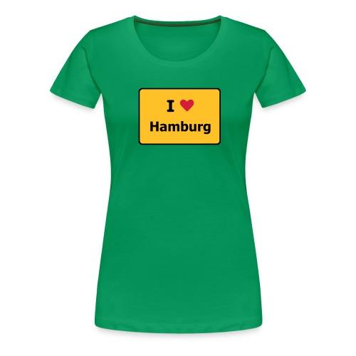 I Love ... - Frauen Premium T-Shirt