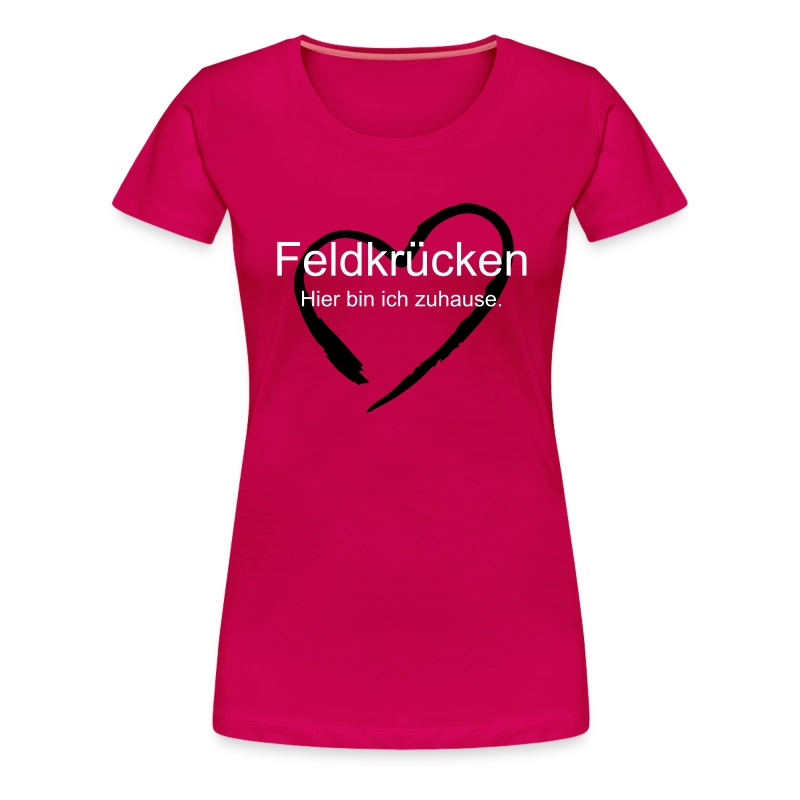 T-Shirt Damen - Frauen Premium T-Shirt
