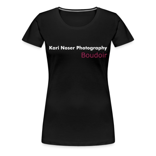 KNP Boudoir black/pink short sleeve - Women's Premium T-Shirt