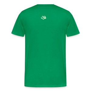 Alien/OM (Glow in the dark) - Männer Premium T-Shirt