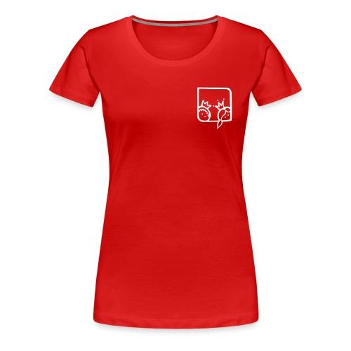 T-Shirt Schlosspraxis 1 - Frauen Premium T-Shirt
