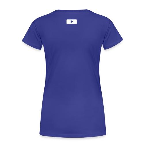Press Play And Hear A Freakish Rawr - Light Blue - Women's Premium T-Shirt