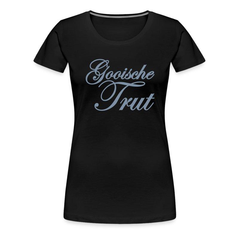 Gooische Trut 'Silver' (Gezien @ Gooise Meisjes) - Vrouwen Premium T-shirt