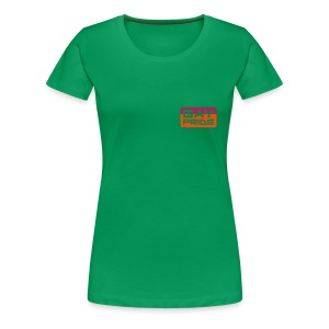 gay pride plain green - Women's Premium T-Shirt
