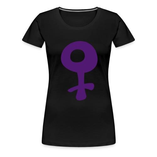 Female Symbol - Women's Premium T-Shirt