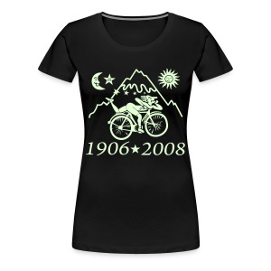 Albert Hofmann (Glow in the dark) - Frauen Premium T-Shirt