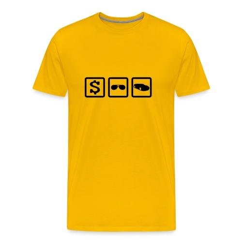 Drei Dinge - Männer Premium T-Shirt