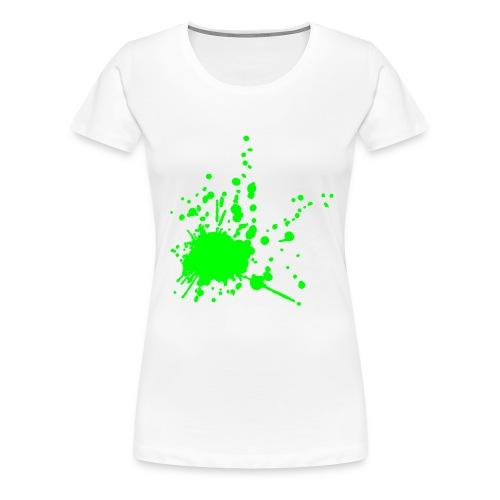 Splat! - Premium T-skjorte for kvinner
