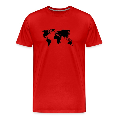 World Map - T-shirt Premium Homme