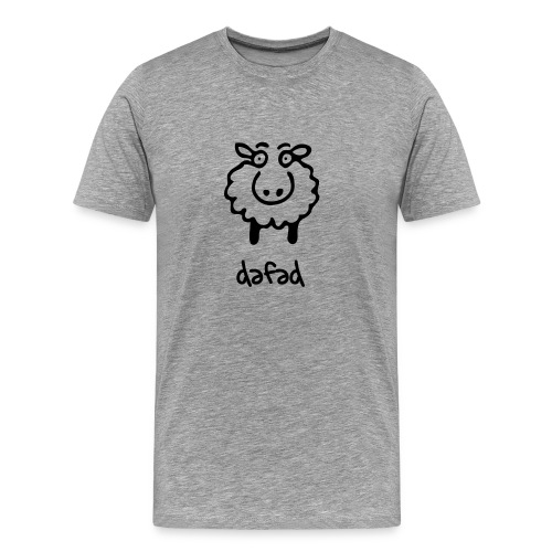 dafad - cryst - Men's Premium T-Shirt