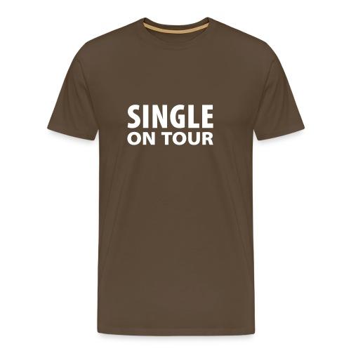 Single on tour - Miesten premium t-paita