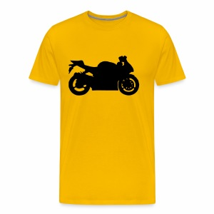 GSXR (black) - Men's Premium T-Shirt